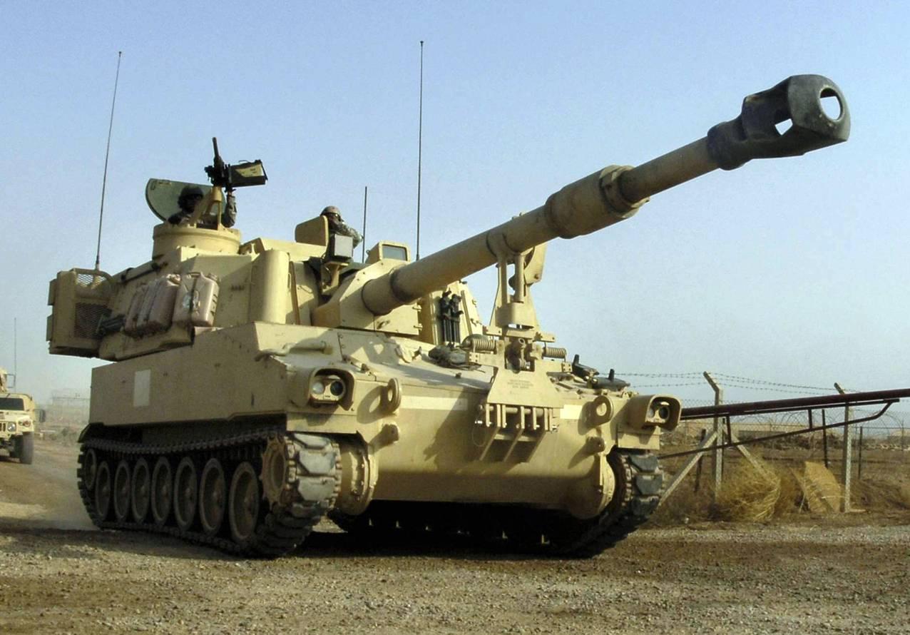 155-мм самоходная гаубица m109