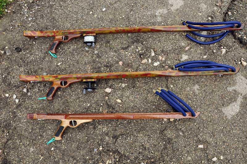 Выбор ружья для подводной охоты