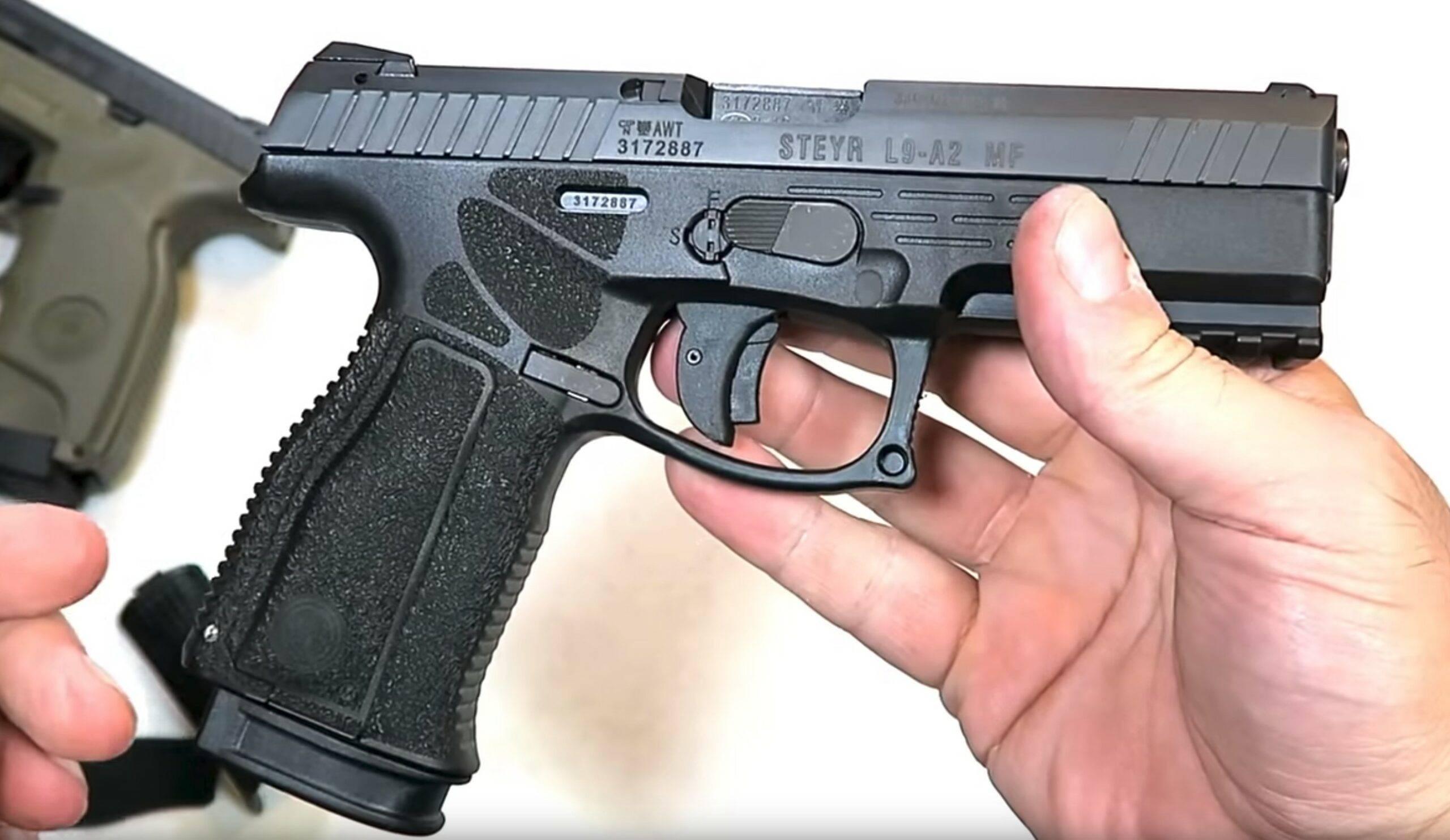 Австрийское дерби. обзор и тест пистолета steyr s9-a1