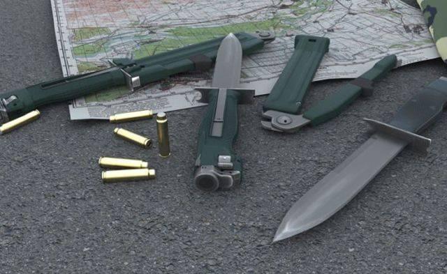 Боевые ножи: атакующие действия в ближнем бою