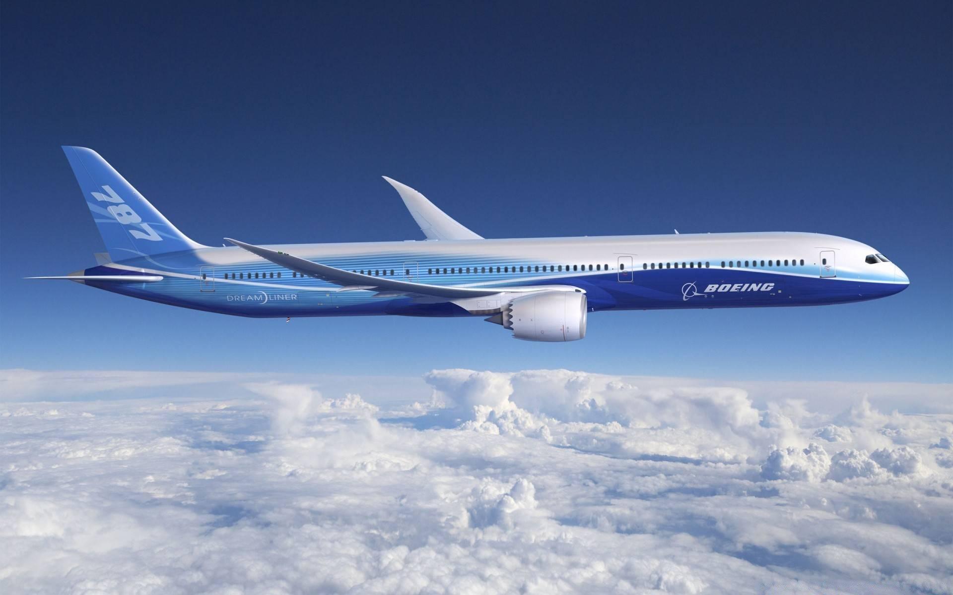 Боинг 787 дримлайнер: фото