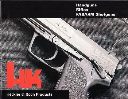 Пистолет usp – триумф новаторов из германии. heckler & koch: товары для охоты, история бренда винтовку немецкой фирмы heckler koch