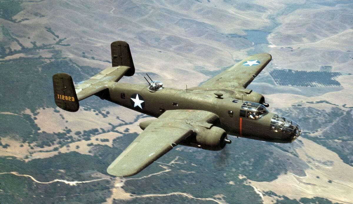 North american b-25 mitchell — традиция