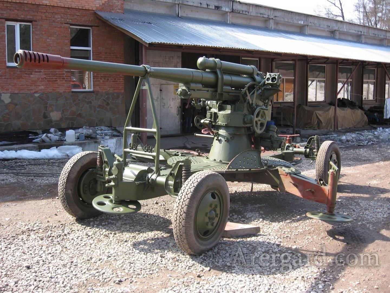 85-мм зенитная пушка образца 1939 года (52-к) ²