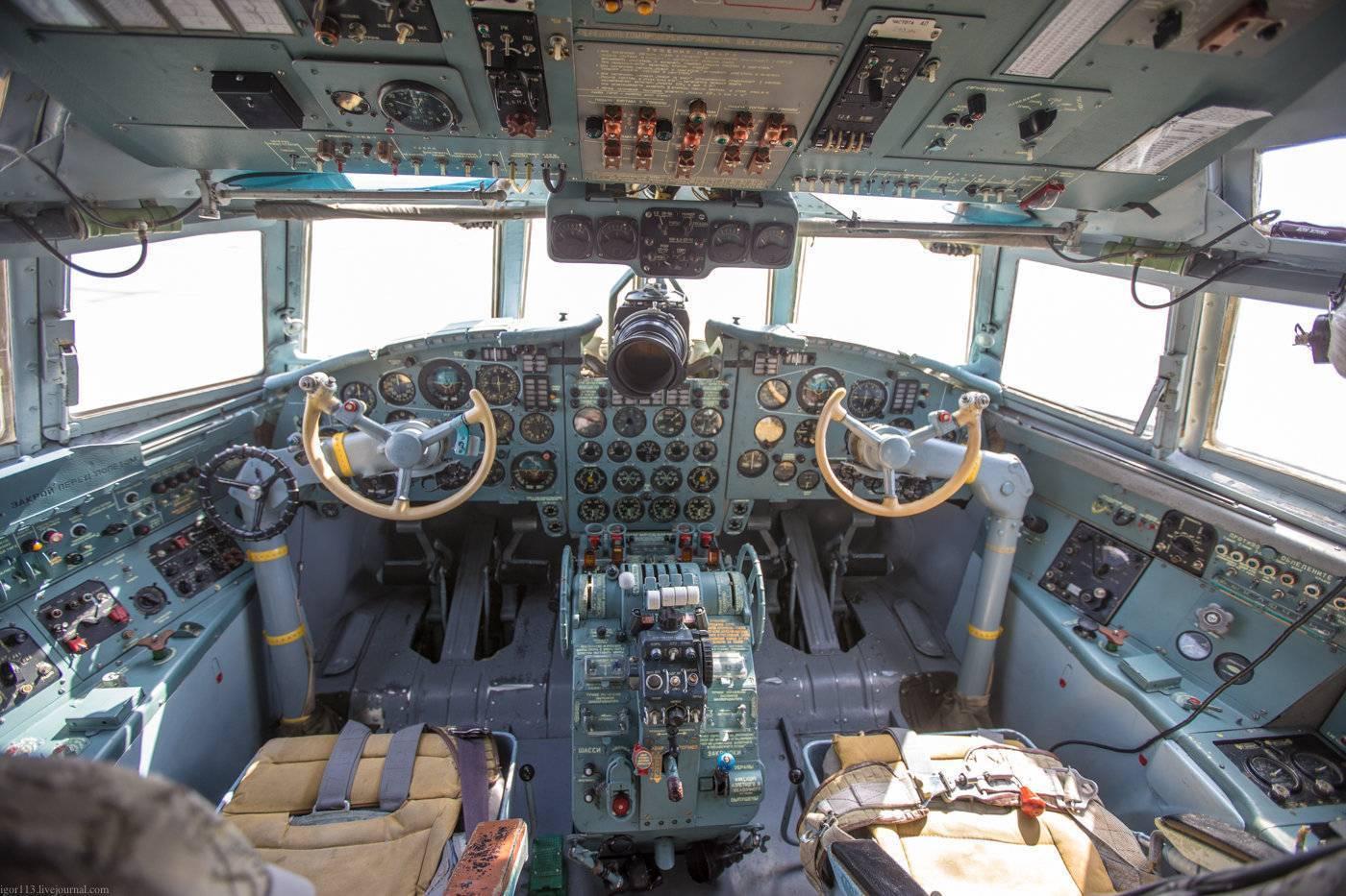 Самолет ил-18 (ильюшин)   ветераны гражданской авиации