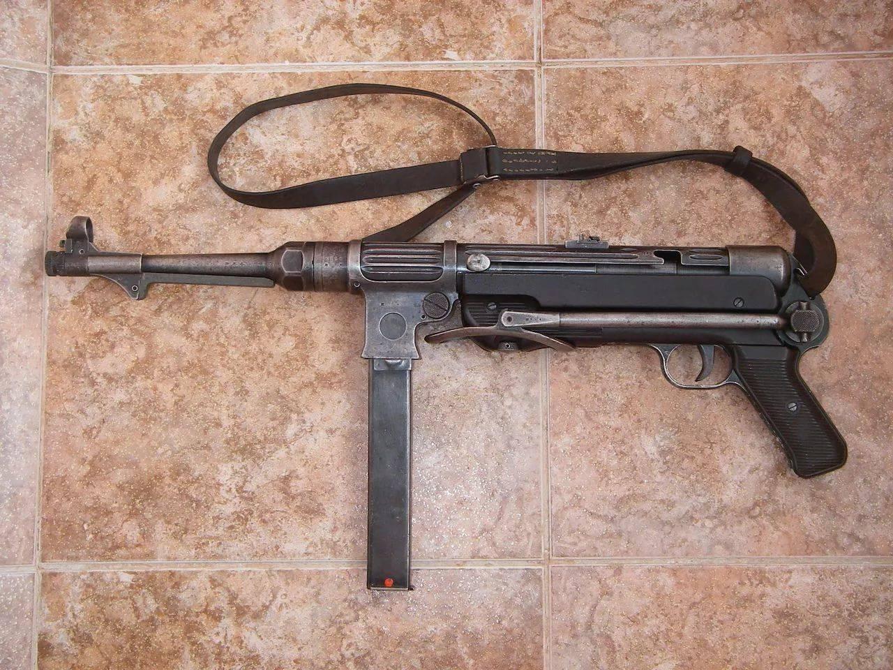 Пистолет-пулемет MP.38