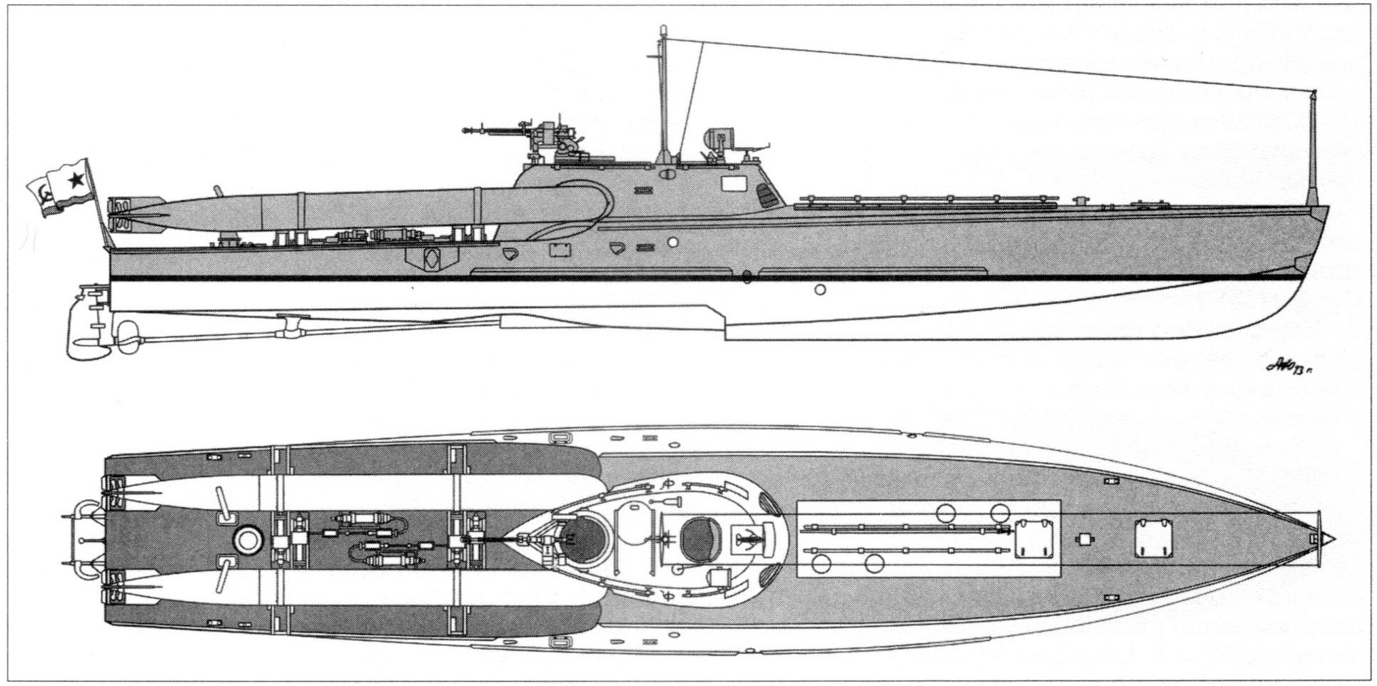 Торпедные катера типа «комсомолец» ²
