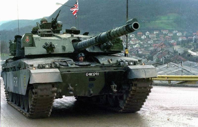 Челленджер (танк) — википедия