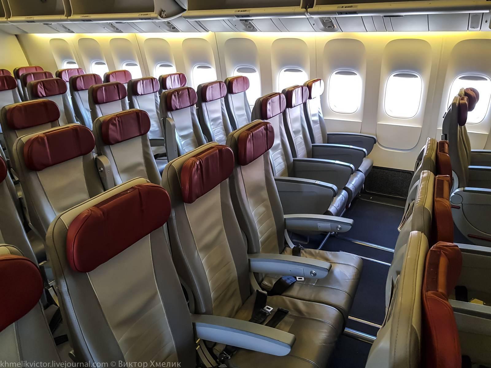 Схема boeing 777-300: лучшие места