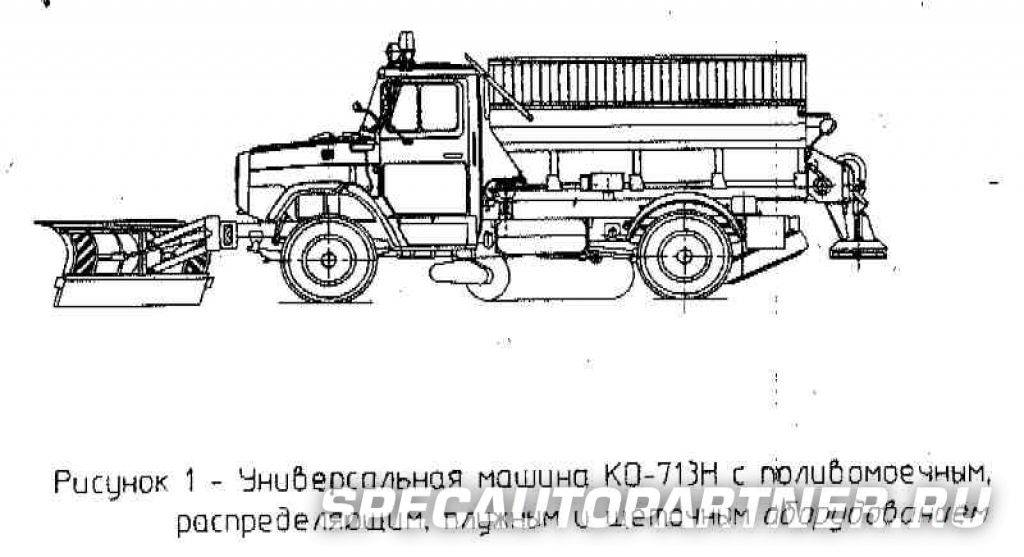 Комбинированные дорожные машины мдк-433362 / мдк-432932. машины для содержания дорог. коммунальная техника зил. зил