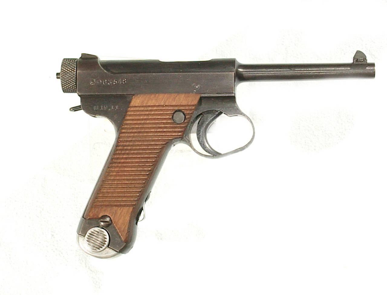 Японский автоматический пистолет ─ раритет «Намбу тип 14»