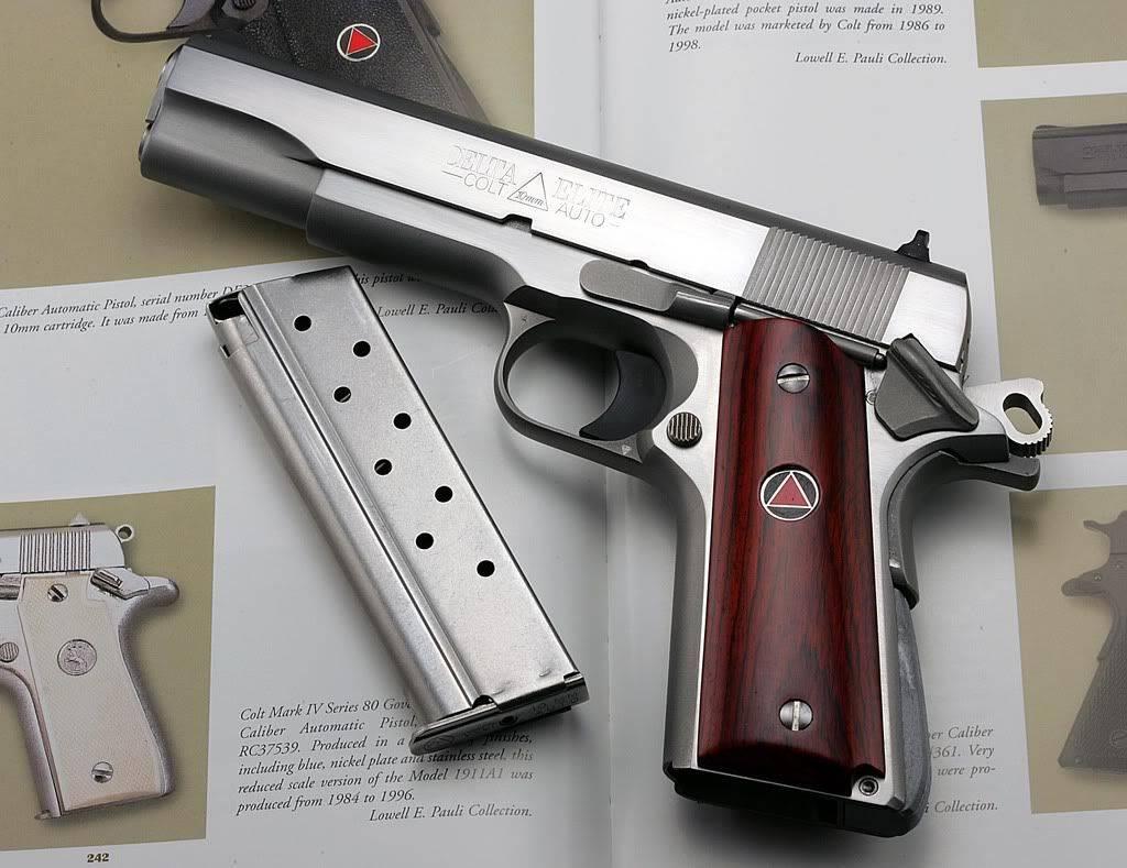 Colt's new updated delta elite 10mm pistols