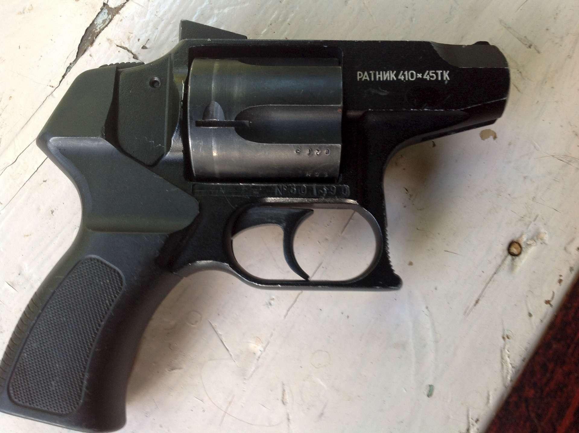 Травматический револьвер ратник 410х45
