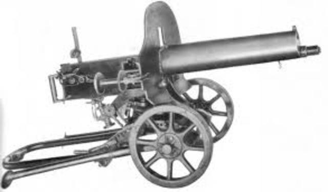 Первое в истории автоматическое оружие – пулемет Максим