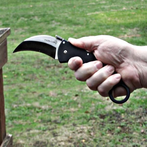 Складной и раскладной нож керамбит как лучшее оружие