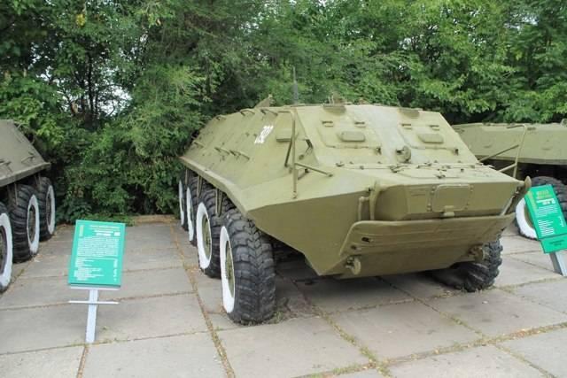Бтр-152 двигатель, вес, размеры, вооружение