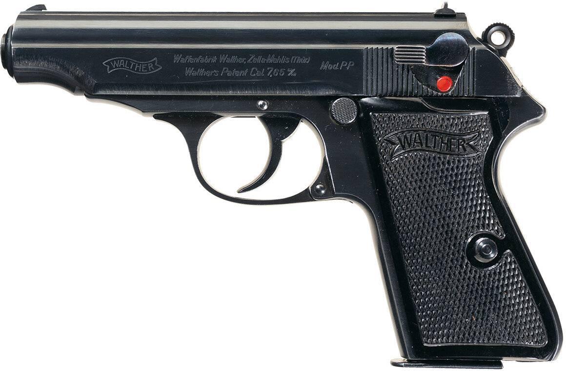 Немецкий пистолет Вальтер: основные характеристики и обзор модификаций