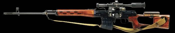 7,62мм снайперская винтовка драгунова (свд)