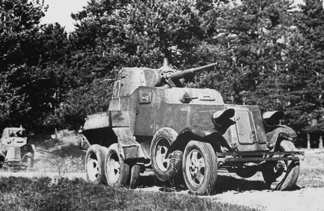 Тяжелый бронеавтомобиль ба-11 | армии и солдаты. военная энциклопедия