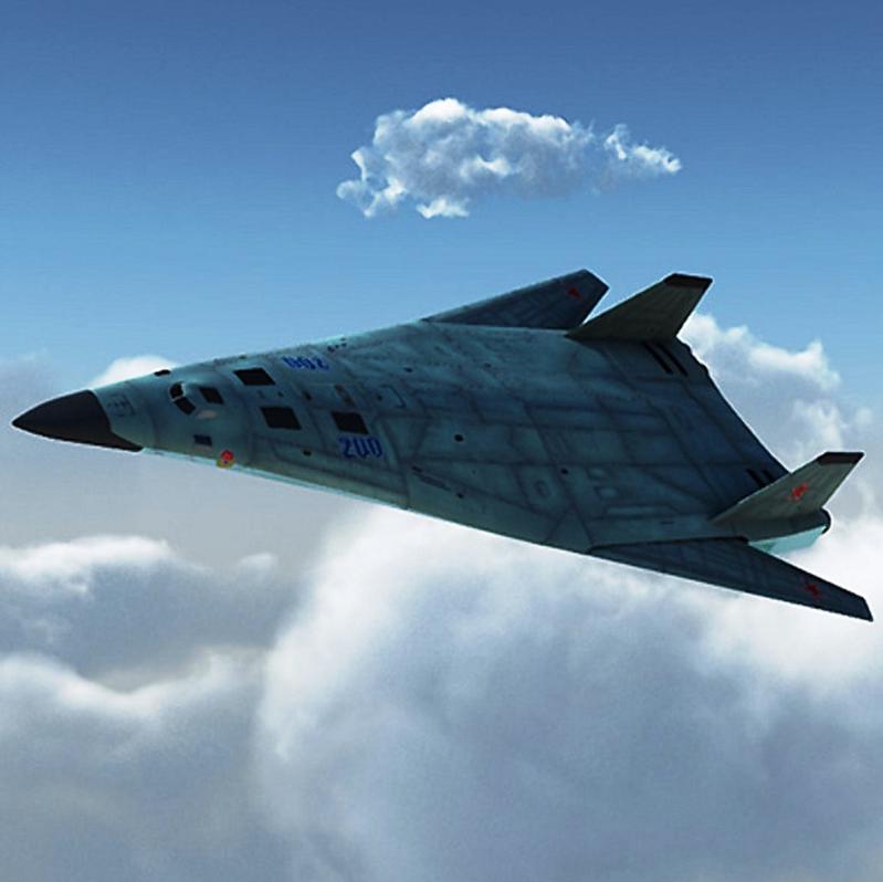 Стратегический бомбардировщик будущего ПАК ДА