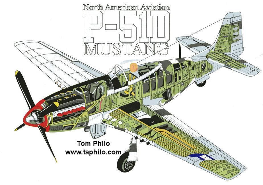 P-51 мустанг