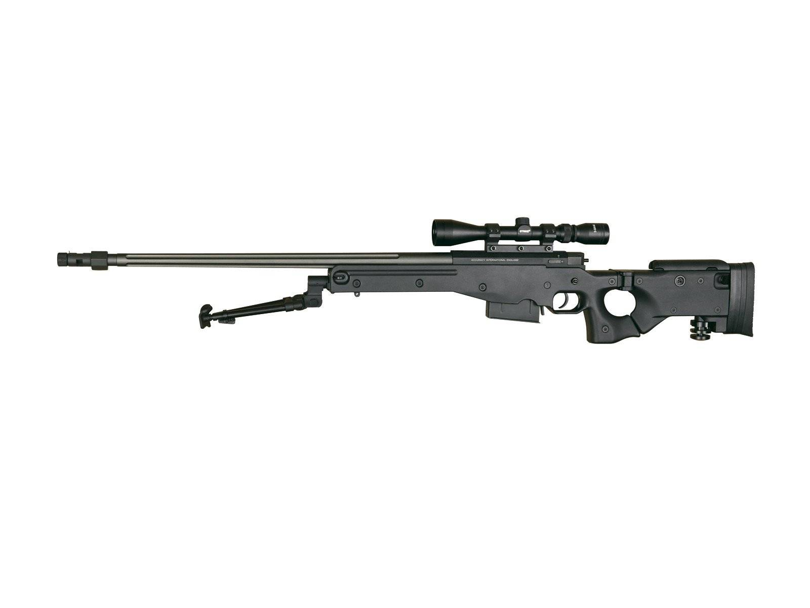 Снайперские винтовки l96a1 aw (arctic warfire) и l115a3 (long range rifle)