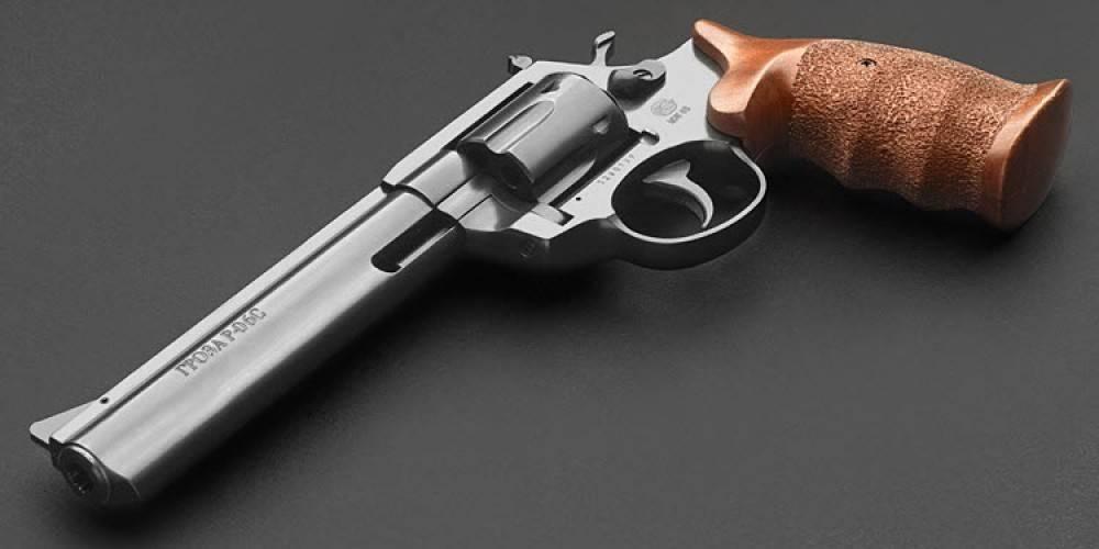 Револьвер гроза р-02с - компактный и безотказный травмат!