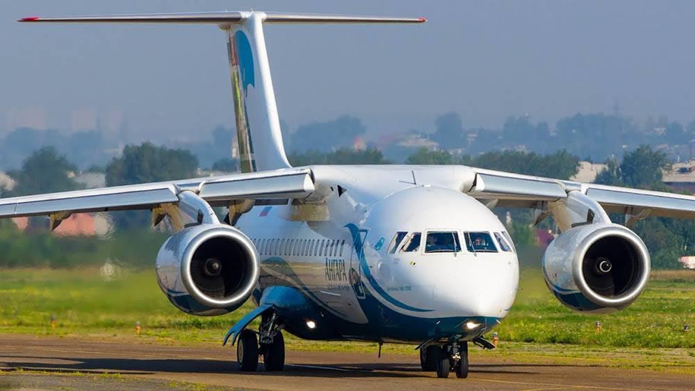 Пассажирский самолет ан-148. досье