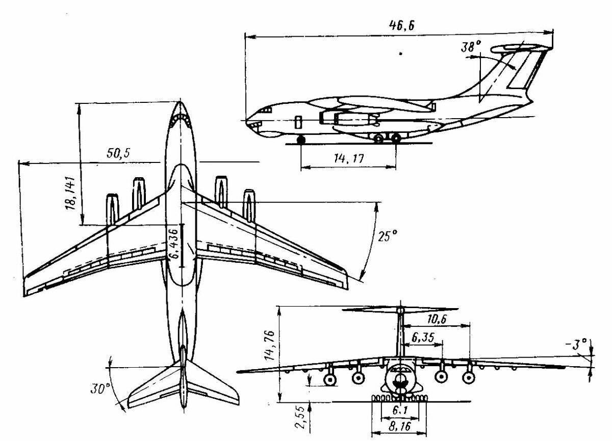Пассажирский самолет ан-24.  история и характеристики