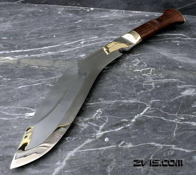 Непальский нож кукри: история легенды. нож кукри