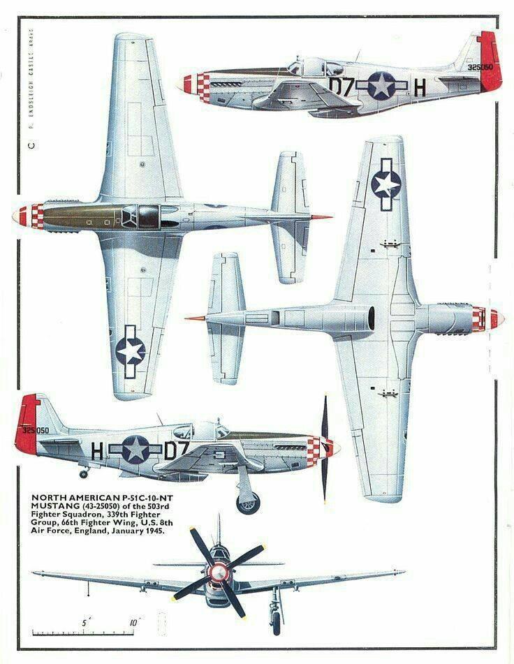 North american p-51 mustang - вики