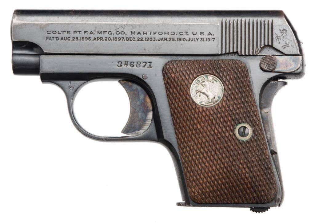 Пистолет colt m1908