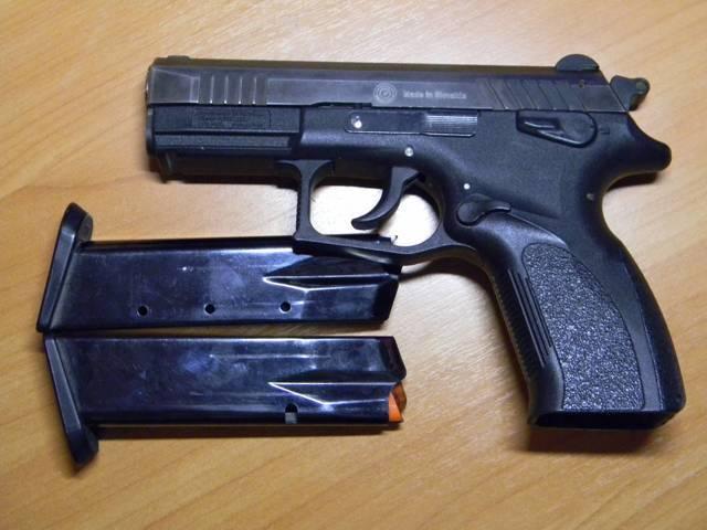 Травматический пистолет «гроза»
