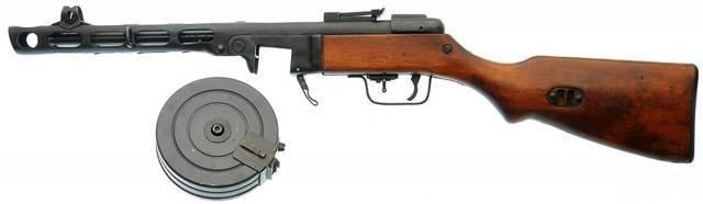 Ппш-41 – пистолет-пулемет шпагина