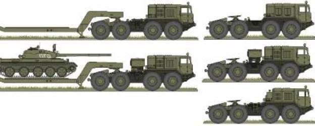 Характеристики боевой машины маз-543 и популярных модификаций