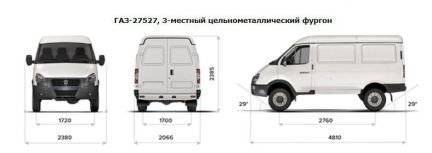 Российский коммерческий автомобиль ГАЗ-2217 Соболь