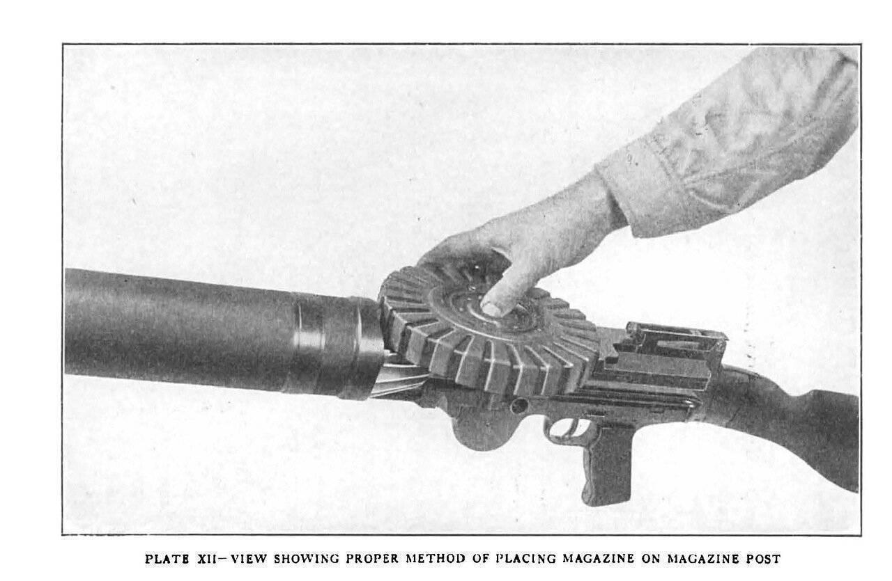 Пулемет льюиса: характеристика, устройство