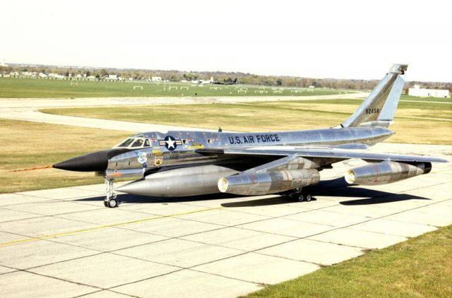 Convair b-58 hustler — википедия. что такое convair b-58 hustler