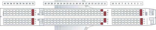 """""""боинг 757-200"""": лучшие места в салоне и описание самолета"""