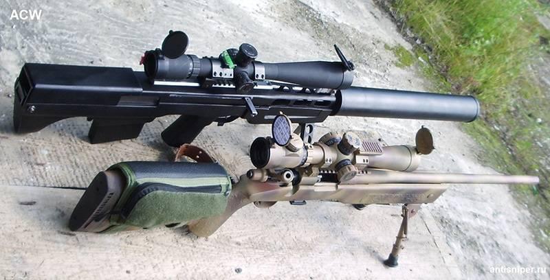 """Вкс винтовка. самая тихая крупнокалиберная винтовка – """"выхлоп"""""""