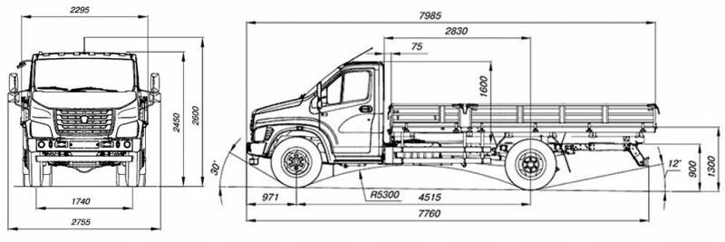 Новое поколение ГАЗон Next для коммерческих перевозок