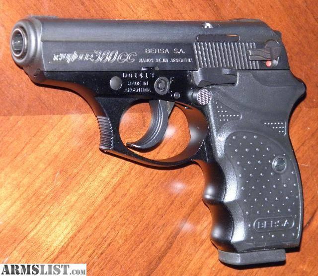 Пистолет Bersa Thunder 380 Concealed Carry