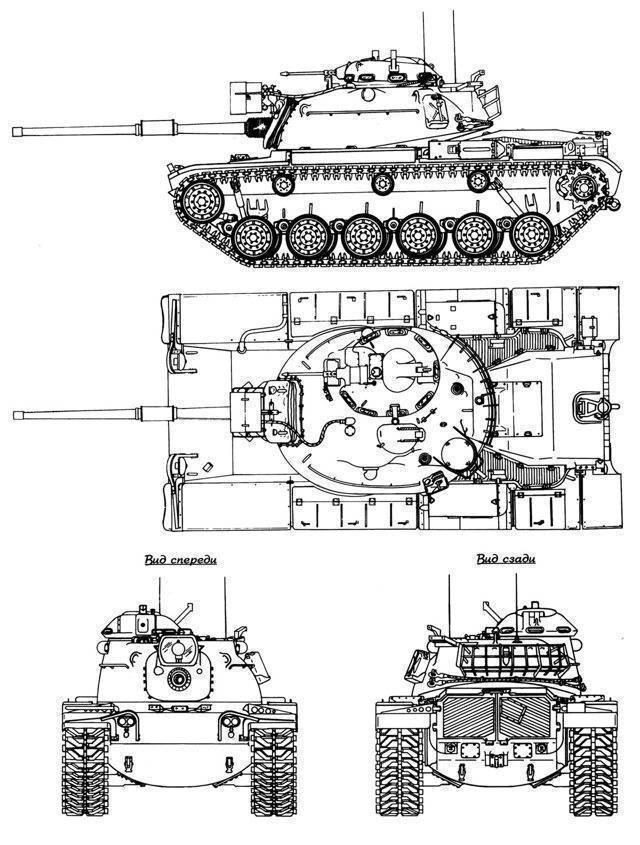 Основной боевой танк м60 (сша) | армии и солдаты. военная энциклопедия