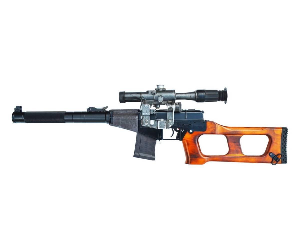 Винтовка снайперская специальная модернизированная вссм