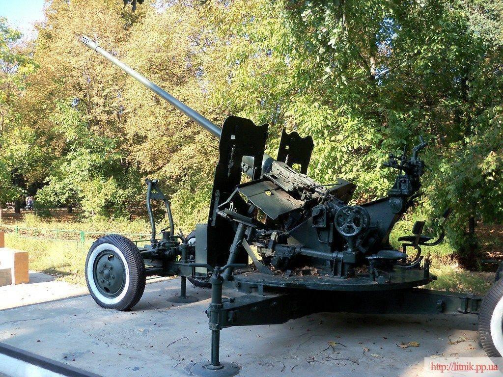 Мощное и эффективное средство ПВО – 57-мм автоматическая зенитная пушка С-60 1950 года