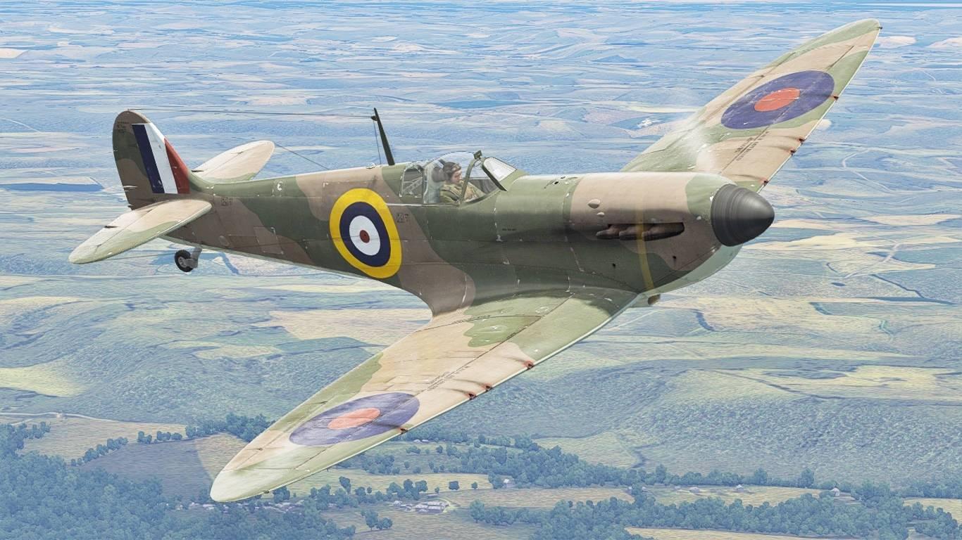 Plagis' spitfire lf mk ixc - war thunder wiki