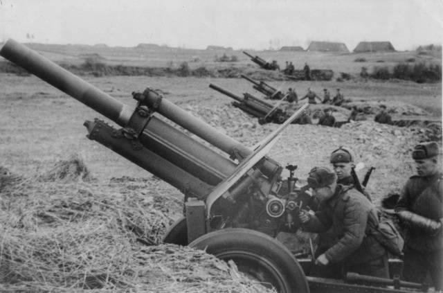 122-мм гаубица образца 1910/30 годов — википедия переиздание // wiki 2