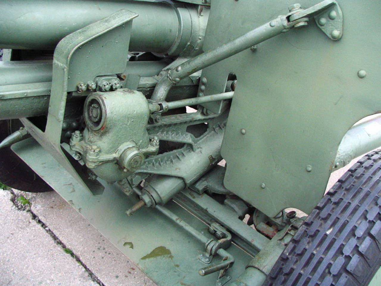 Зис - 3. 76.2 мм дивизионная пушка образца 1942 года и немецкая 75 - мм противотанковая пушка рак -40.