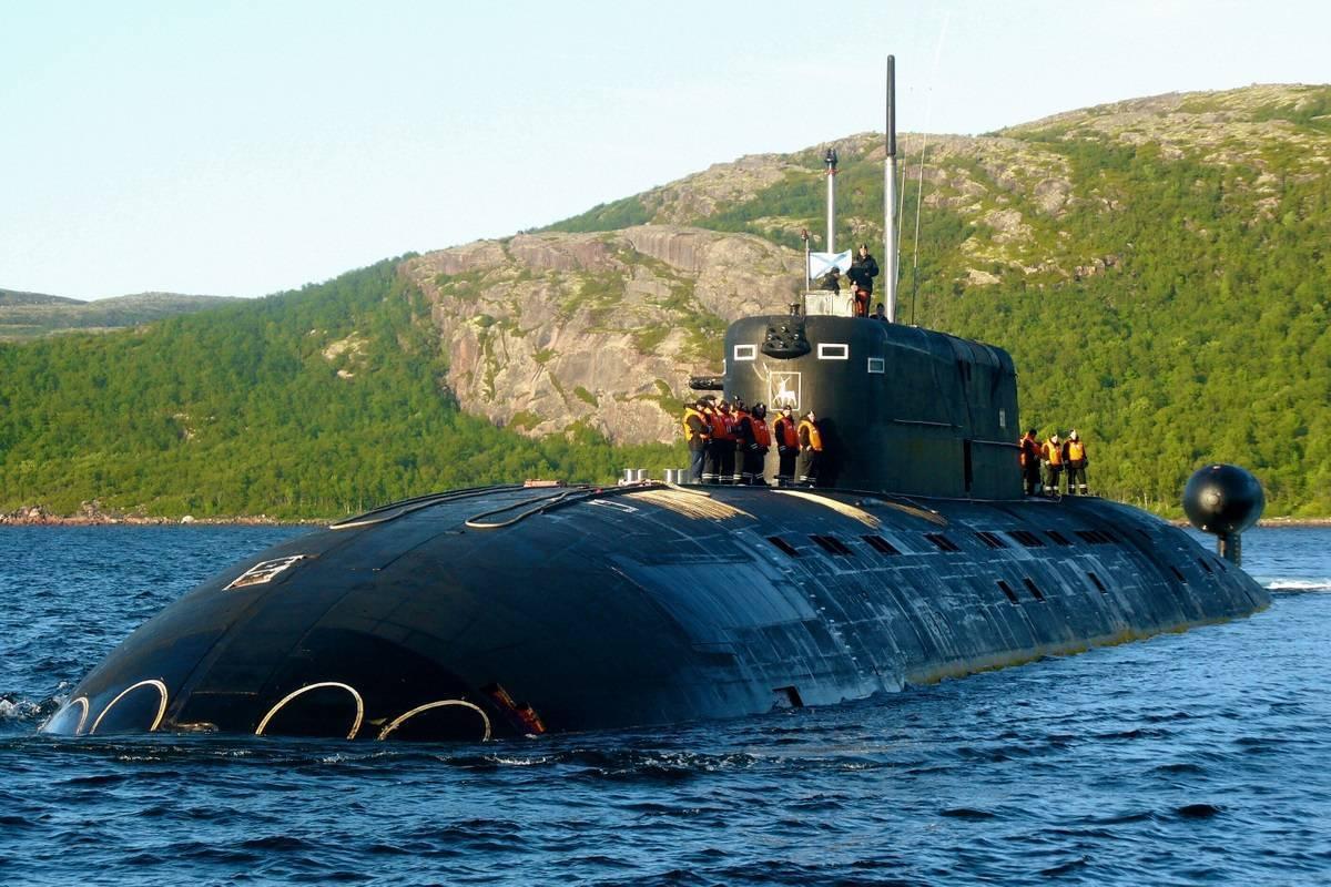 Подводные лодки проекта 945а