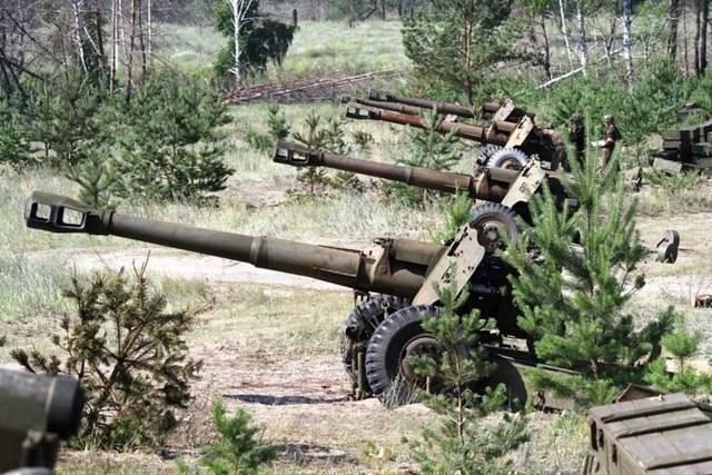 Пушка бр-2 калибр 152-мм фото. ттх. устройство